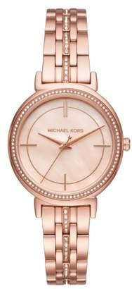 Michael Kors Cinthia Bracelet Watch, 33mm