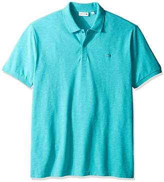 Lacoste Men's Short Sleeve Garment Dyed Vintage Slim Fit Polo Shirt