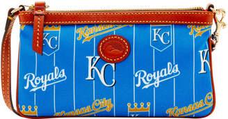 Dooney & Bourke MLB Royals Large Slim Wristlet