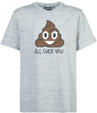 Mostly Heard Rarely Seen 8-Bit All Over You appliqué T-shirt