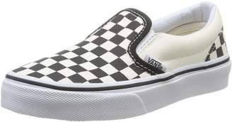 Vans Classic Classic Slip Ons Black Kids Trainers Size Kids 1 UK