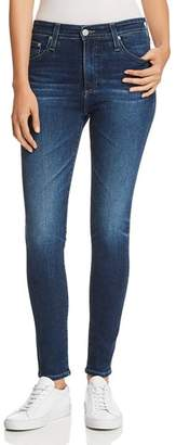 AG Jeans Farrah Ankle Skinny Jeans in 4 Years Deep Willow