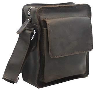 Vagabond Traveler Cowhide Leather Cross-Body Shoulder Bag