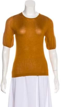 Prada Cashmere and Silk-Blend Top