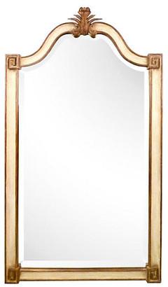 One Kings Lane Vintage Italian Hand-Carved Wooden Mirror - Galleria d'Epoca