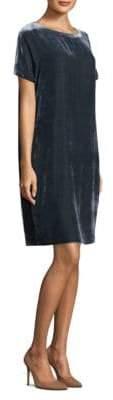 Peserico Velvet Shift Dress