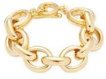 Rivka Friedman 18K Goldplated Chain Bracelet