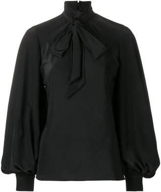 Philosophy di Lorenzo Serafini pussy bow blouse
