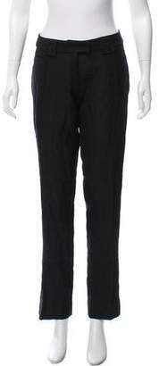 John Galliano Mid-Rise Straight-Leg Pants