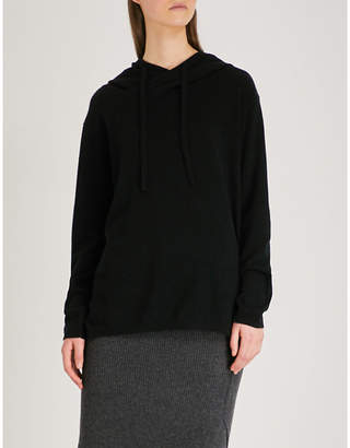Allude Hooded cashmere jumper