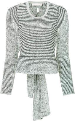 Dion Lee spiral rib sweater