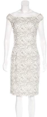 Christian Dior Lace Off-The-Shoulder Dress