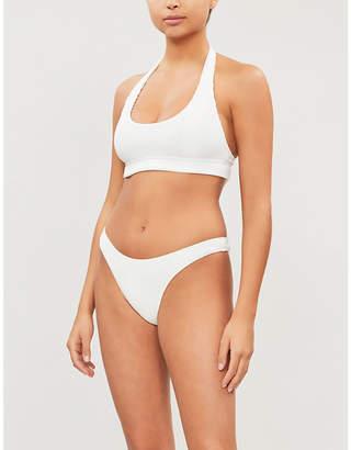 Frankie's Bikinis Frankies Bikinis Starry scoop-neck bikini top