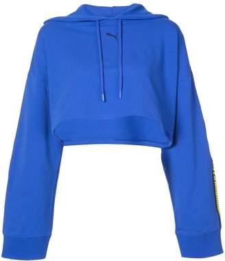 FENTY PUMA by Rihanna hooded LS cropped sweatshirt