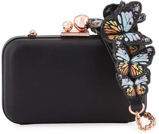 Sophia Webster Vivi Butterfly Box Clutch Bag