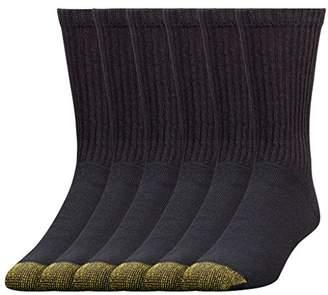 Gold Toe Men's 6-Pack Cotton Crew 656s Athletic Sock