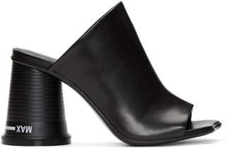 Maison Margiela Black Court Cup Heel Sandals