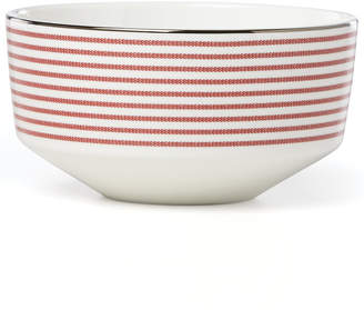Kate Spade Laurel Street Collection Red Soup/Cereal Bowl