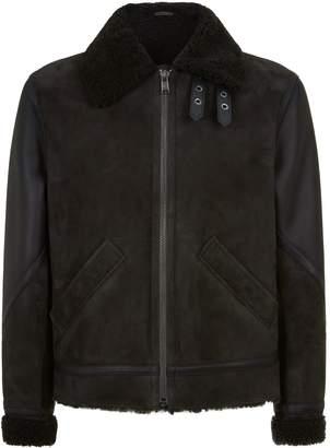 HUGO BOSS Shearling Jacket