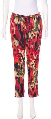 Haute Hippie Printed Silk Pants w/ Tags