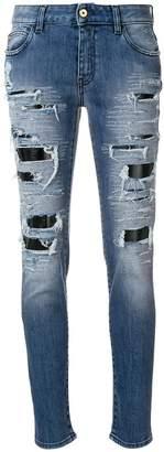 Just Cavalli distressed boyfriends jeans