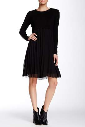 Gracia Sweater Chiffon Dress
