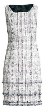 Elie Tahari Leontine Tweed Dress