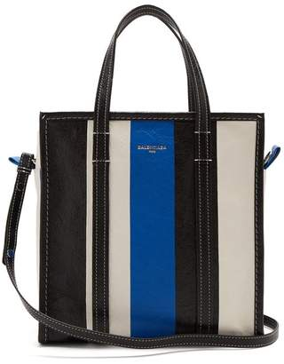 2726e0cdd1 Balenciaga Bazar Shopper S - Womens - Blue Stripe