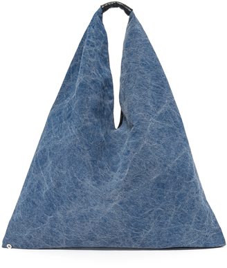 MM6 Denim Hobo Bag $235 thestylecure.com