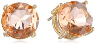 Jessica Simpson Light Peach Stud Earrings