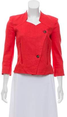 Helmut Lang Linen Structured Jacket