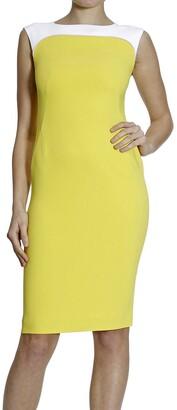 Fay Dress Sleeveless Cady Bicolor