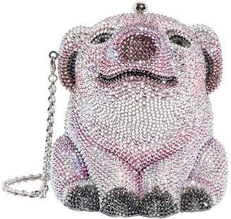 Judith Leiber Pig Wilbur Pill Box Clutch