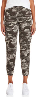 Wild Honey Grey Camouflage Cargo Pants