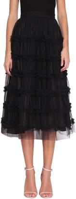 Au Jour Le Jour Tulle Ruffled Skirt
