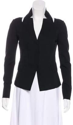 Donna Karan Long Sleeve Cutout Blazer