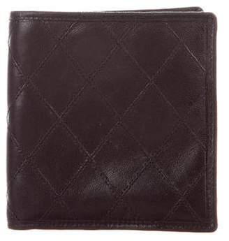 Chanel Diamond Quilted Bifold Wallet