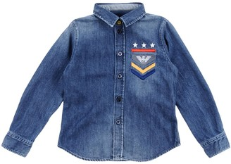 Armani Junior Denim shirts - Item 42636796RI