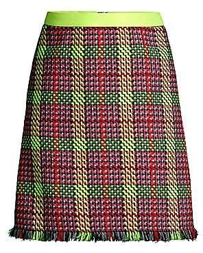 Escada Sport Women's Ringa Tweed A-Line Mini Skirt