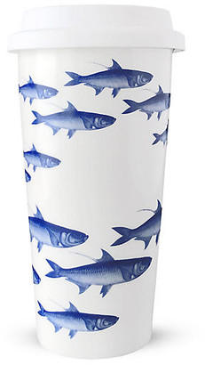 Caskata School of Fish Travel Mug - Blue