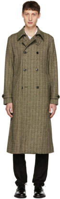 Tiger of Sweden Green and Black Fitzroy 3 Coat