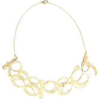 Tom Binns Gold Metal Necklace