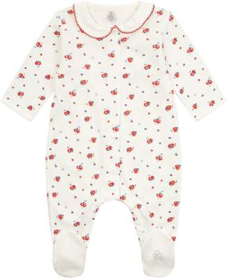 Petit Bateau Floral All-In-One