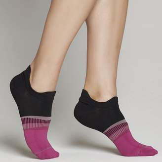 Yummie by Heather Thomson Athletic Double Tab No Show sock