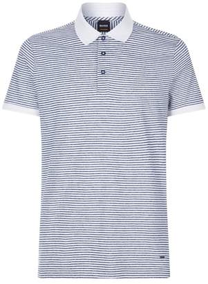 BOSS ORANGE Striped Polo Shirt