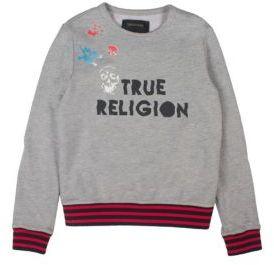 True Religion Toddler's, Little Boy's & Boy's Skull Printed Sweatshirt $59 thestylecure.com