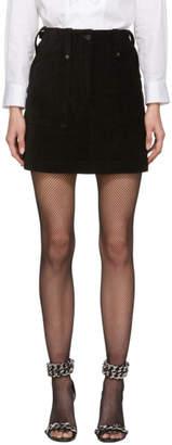 McQ Black Major Miniskirt