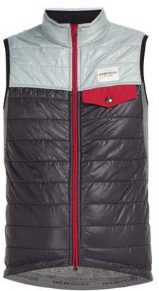 Café Du Cycliste Cafe Du Cycliste - Albertine Padded Cycling Gilet - Mens - Black Multi