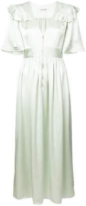 Jill Stuart satin prairie dress