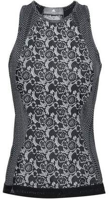 adidas by Stella McCartney Printed Jacquard-knit Tank